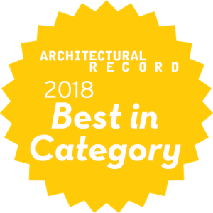 Best in Category Building Systems and Components Architectural Record 2018