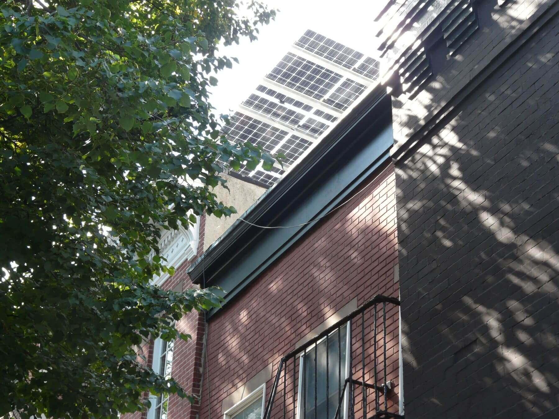 solar canopy street view
