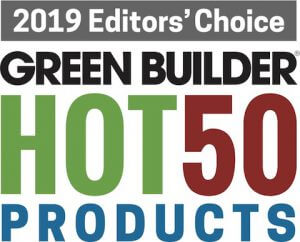 Hot 50 Products Editors' Choice Green Builder Magazine 2019