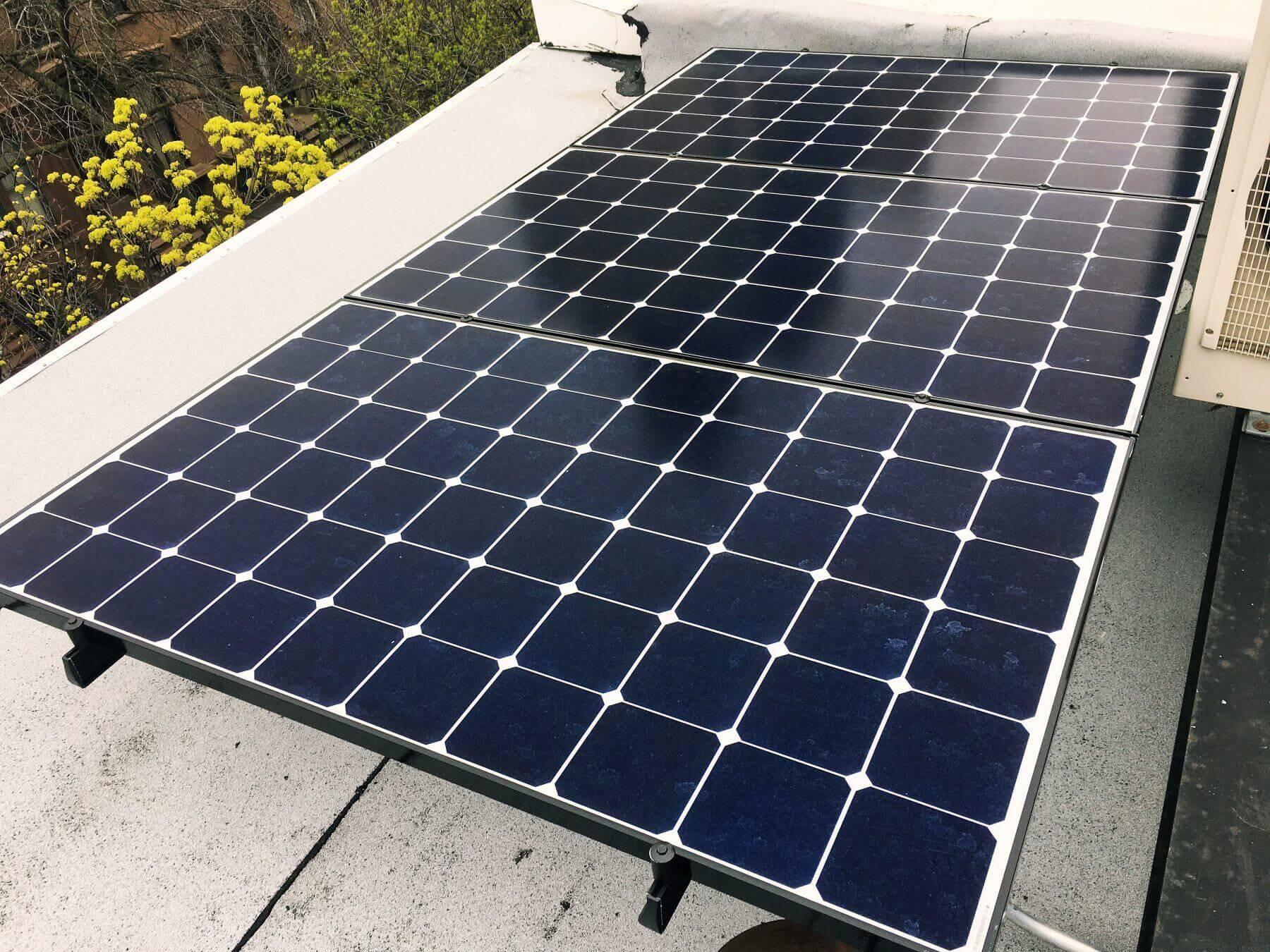 solar tilt rack