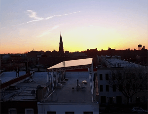 A Clever Canopy Brings Solar Power to Brooklyn at Long Last