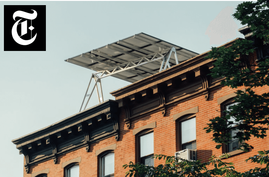 NYT solar adoption article