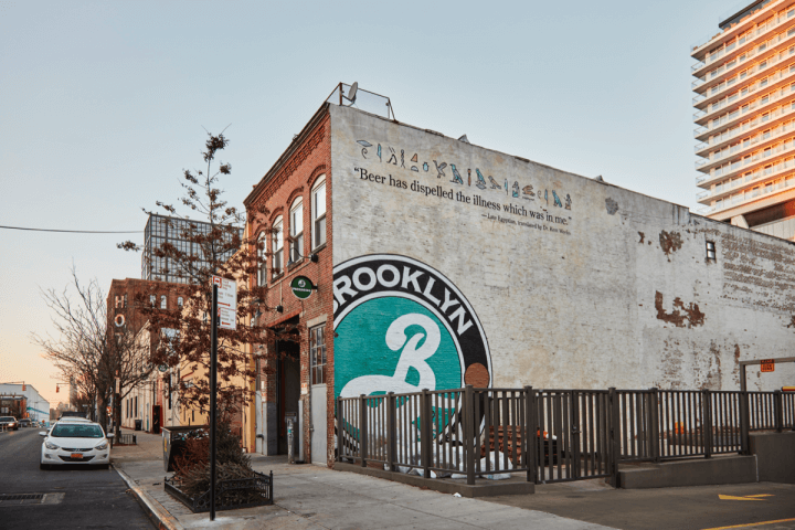 Brooklyn brewery sustainably-minded production