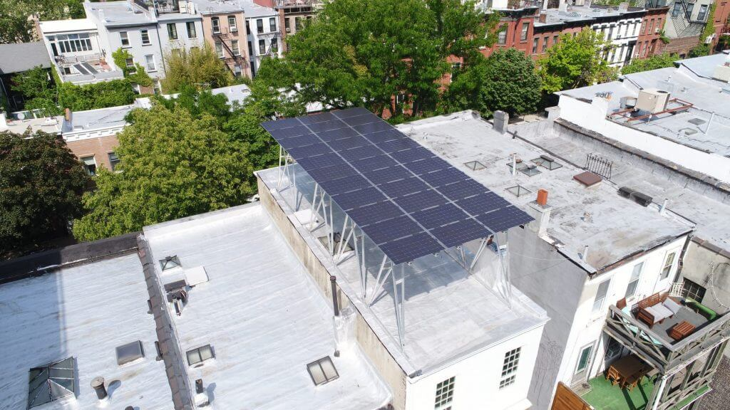 solar canopy Brooklyn