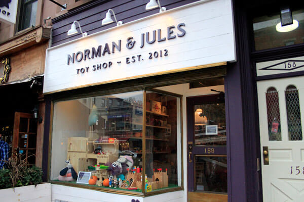 sustainably-minded toy shop