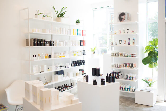 Whiteroom salon sustainably-minded