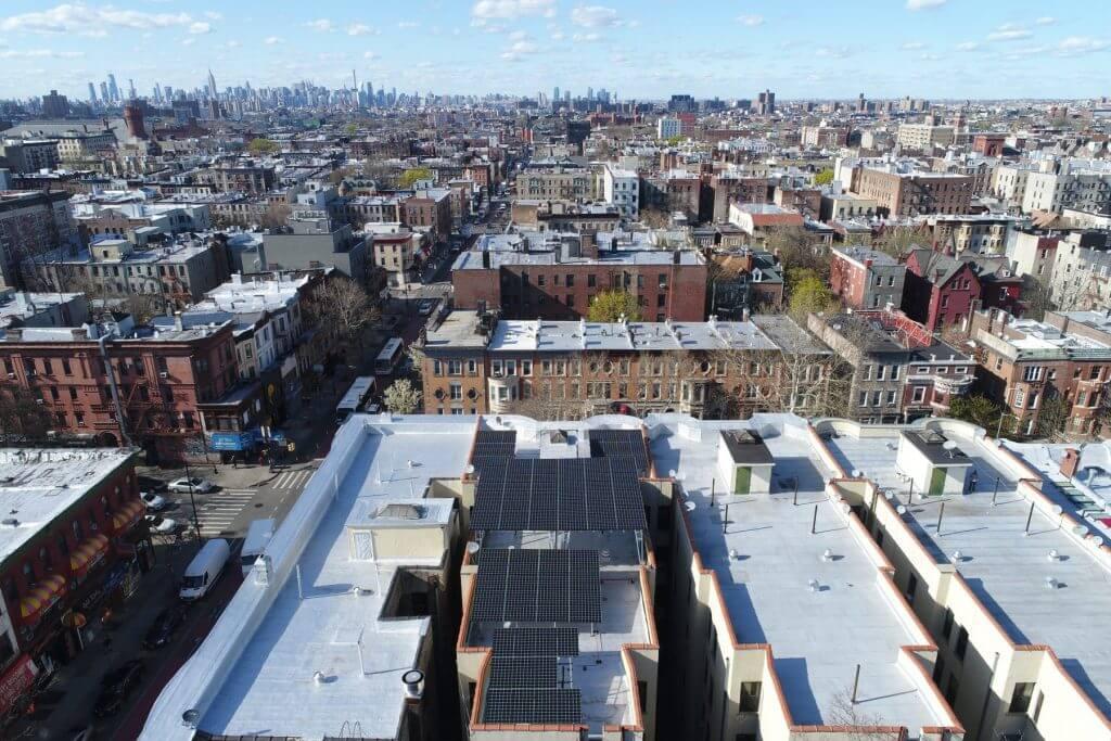 flat roof solar panels nyc