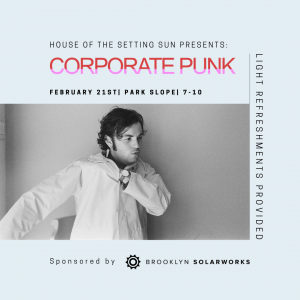 Corporate Punk Brooklyn SolarWorks