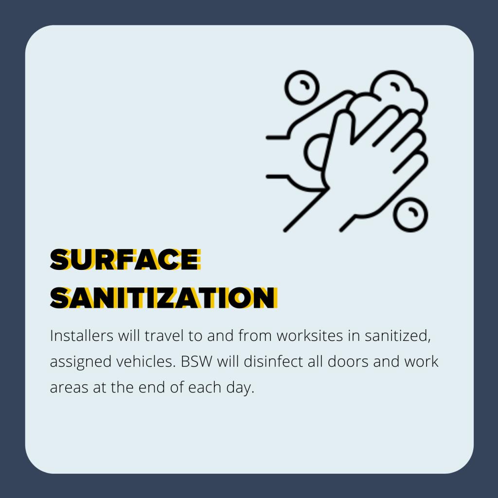 Surface Sanitization