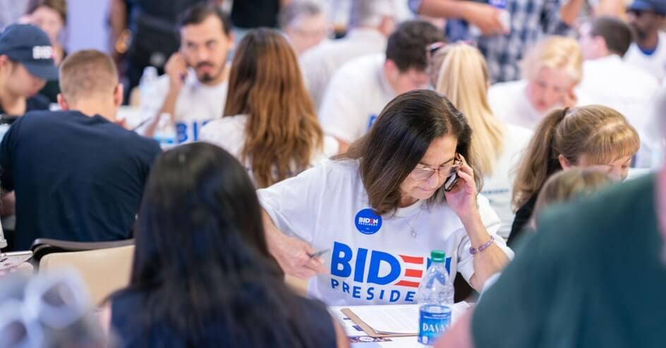 Clean Energy for Biden phone banking