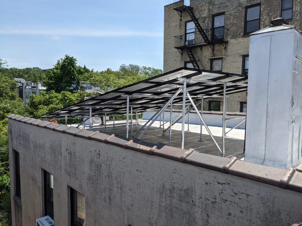 brooklyn solar, rooftop, installation