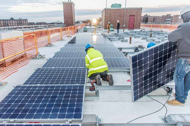 nyc, climate change, carbon neutrality, solar, clean energy, sustainability, community solar